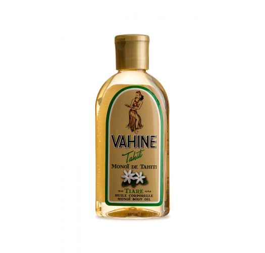 Monoï-olie med tiare-duft - Vahine Tahiti - Monoï Tiare - 125ml