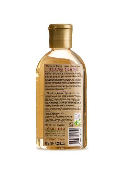 Monoi de Tahiti oil - Ylang Ylang perfume - Vahine Tahiti - Monoï Ylang Ylang - 125ml