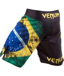 Maillots de bain Homme - VENUM BRAZILIAN FLAG FIGHTSHORTS - BLACK