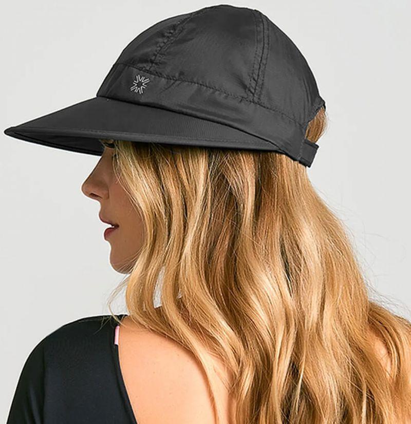 Black women cap - SPF50 - VISEIRA NICE PRETO - SOLAR PROTECTION UV.LINE