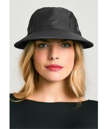 Black women cap - SPF50 - VISEIRA NICE PRETO - SOLAR PROTECTION UV.LINE