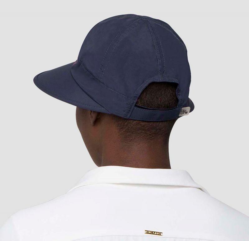 Marine & pink feminine cap - SPF50 - VISEIRA NICE SHOCK - SOLAR PROTECTION UV.LINE