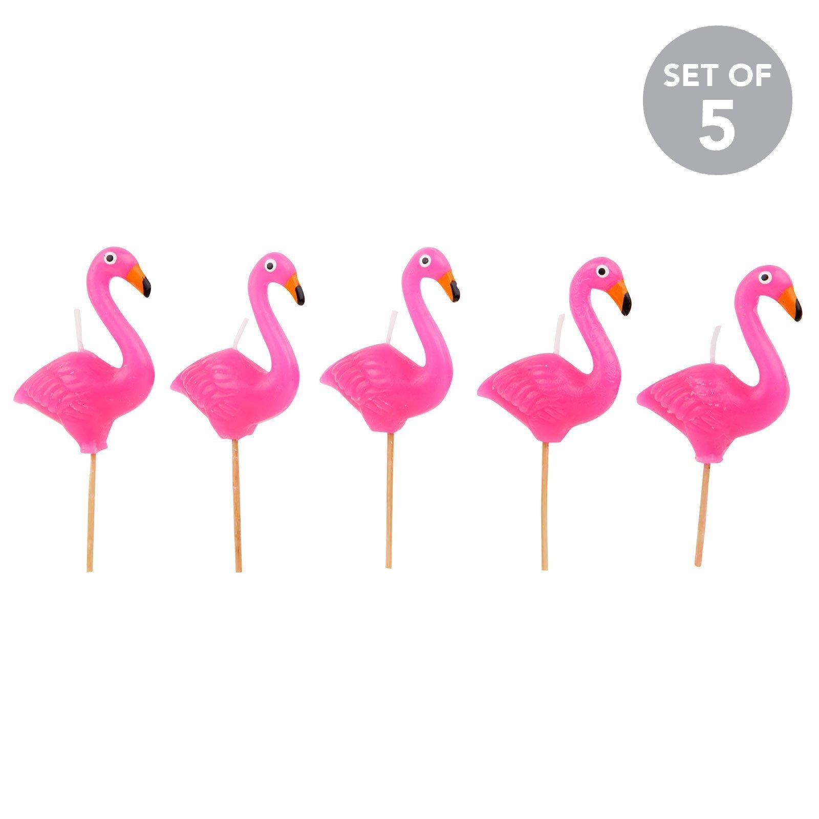 lot de 5 bougies flamants roses avec pics flamingo cake clipart rose colored flowers clip art roses free