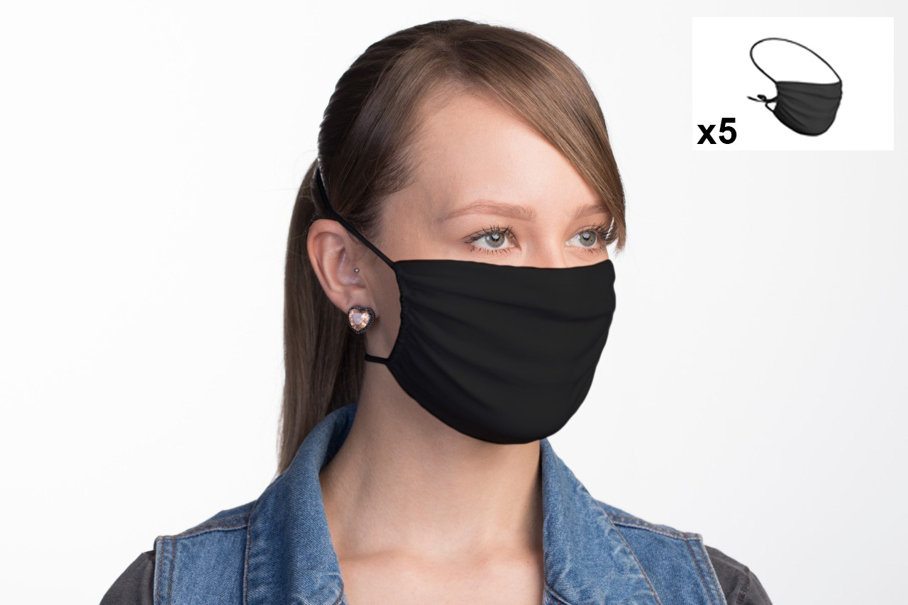 BaF Black/_Style31 Mask Mixte Adulte FR Unique Taille Fabricant : OneSize