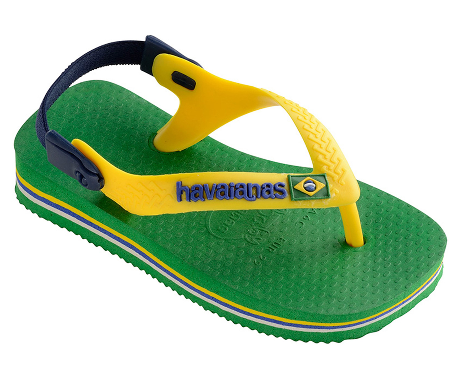 HAVAIANAS BABY BRASIL LOGO SANDALS 4 COLOURS