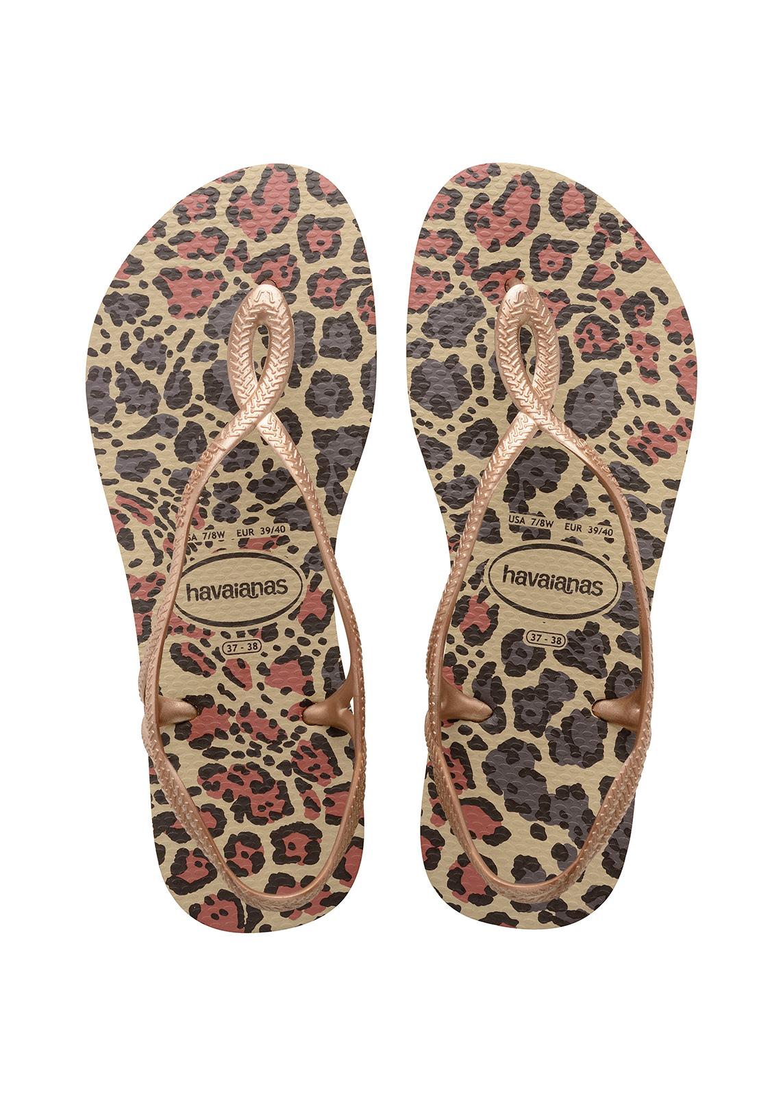 Sandale Pour Les Femmes Havaianas Luna - Or EWvDuyA