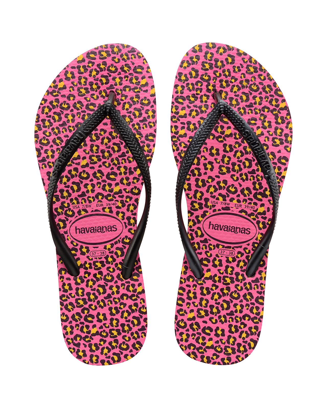 Flip-Flops Flip-flops - Havaianas Slim Animals Shocking Pink 09939026d052