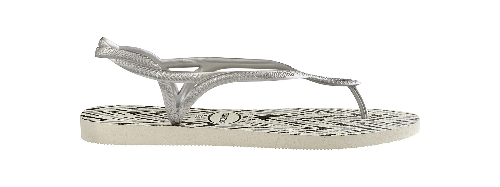 42ba520218a4 Sandals Flip-flops - Havaianas Luna Animals White silver