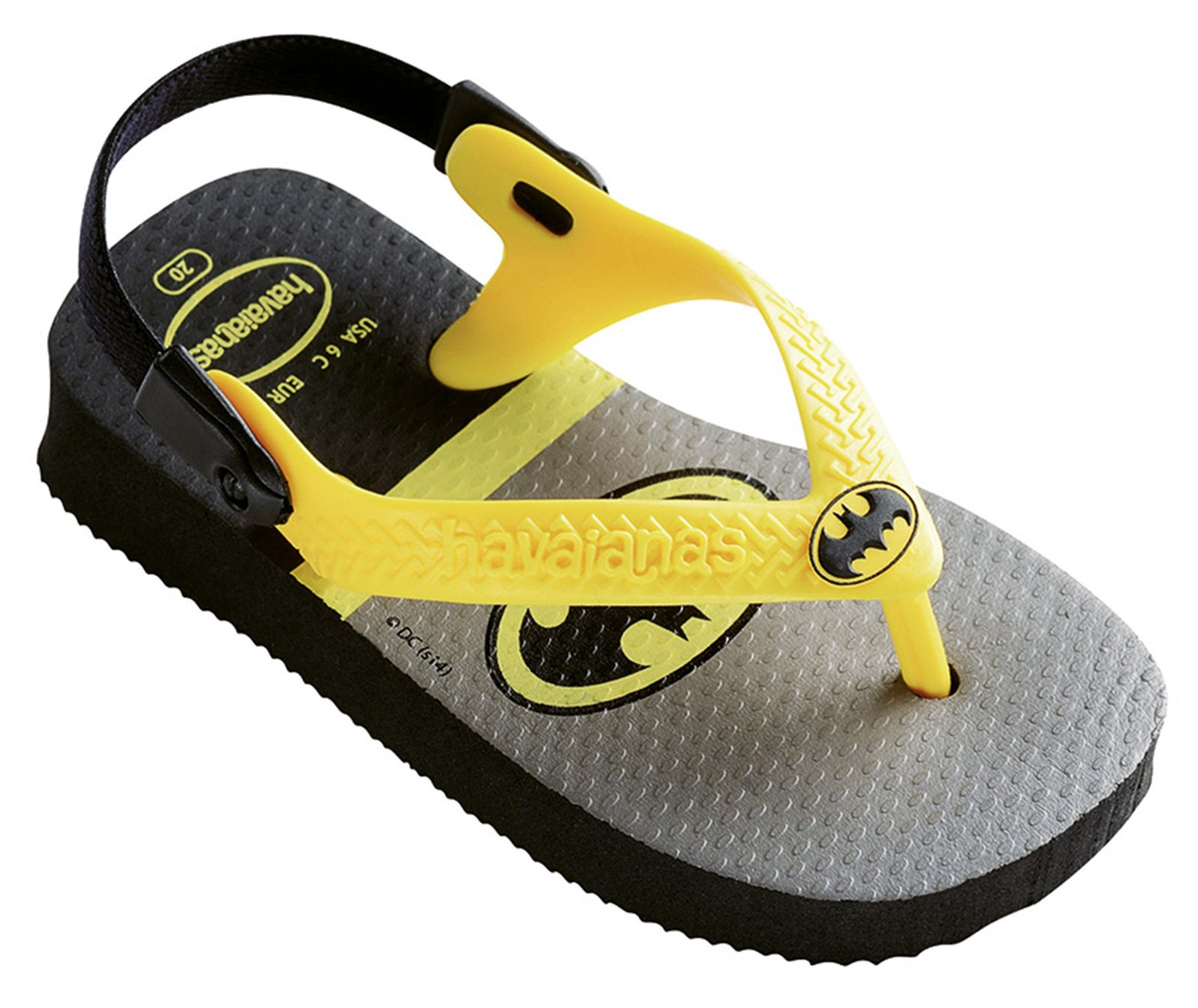 Black sandals baby