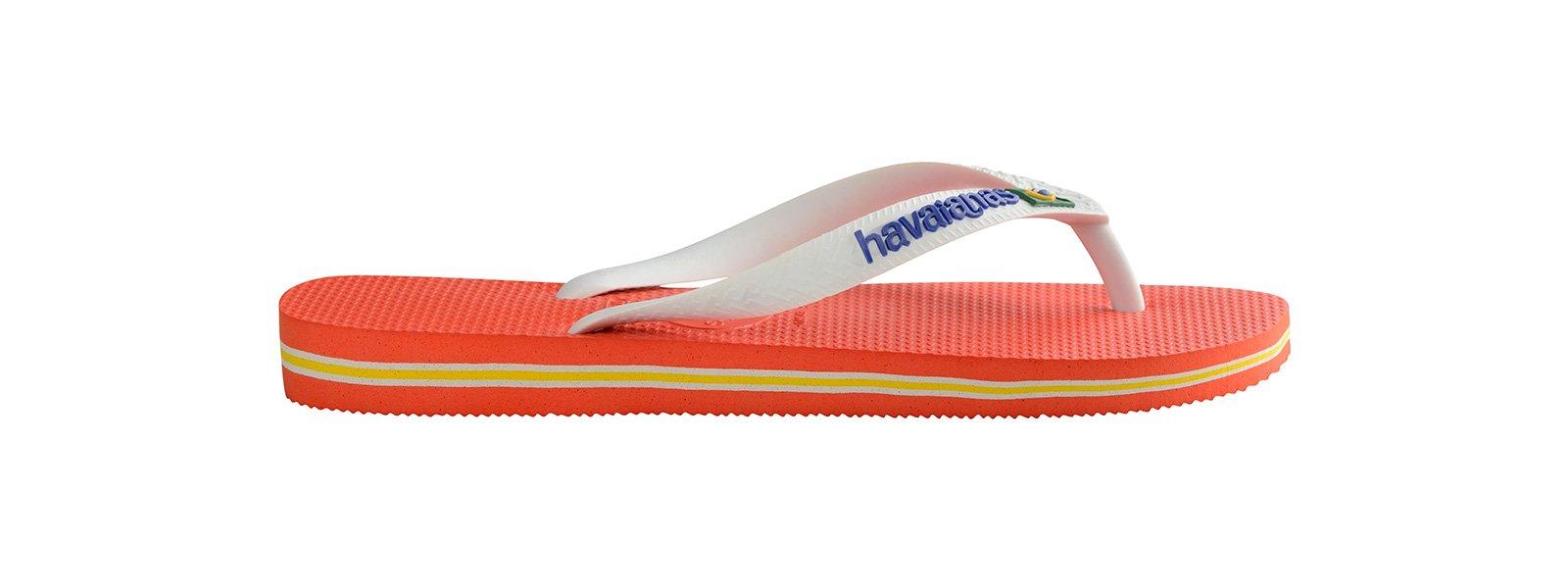32051d8fc009e Flip-Flops - Zehentrenner Zehentrenner - Havaianas Brasil Logo Pumpkin