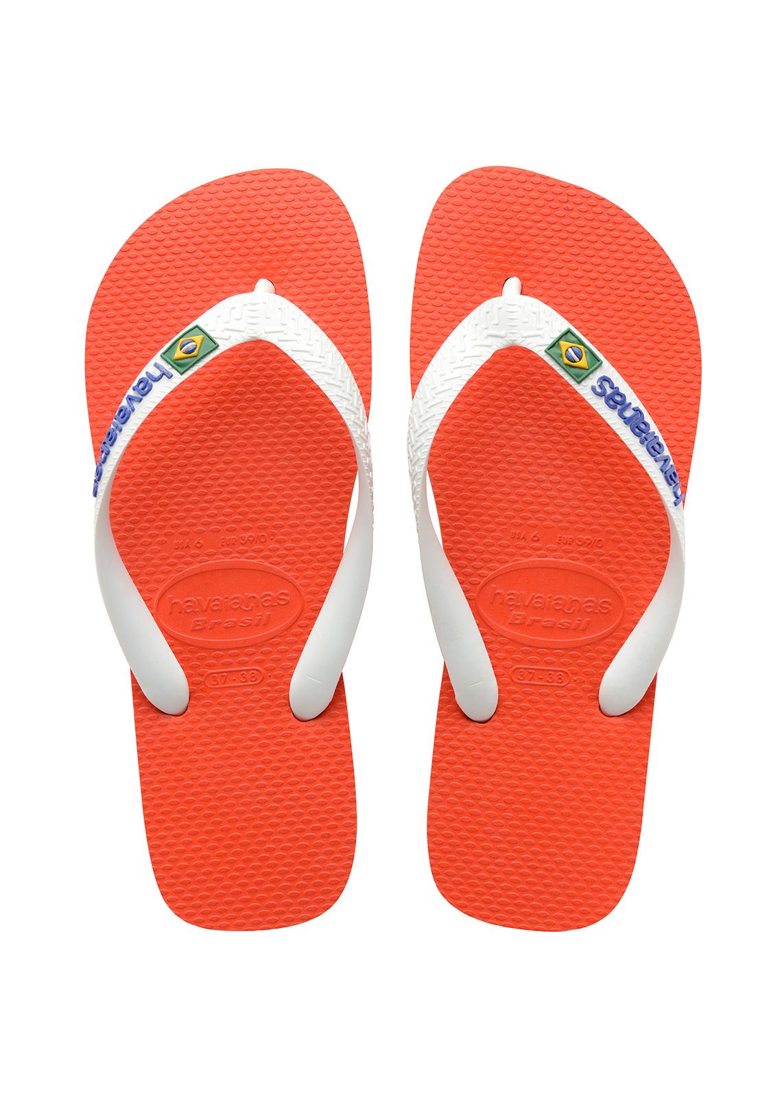3b9ae7905726 Flip-Flops Flip-flops - Havaianas Brasil Logo Pumpkin