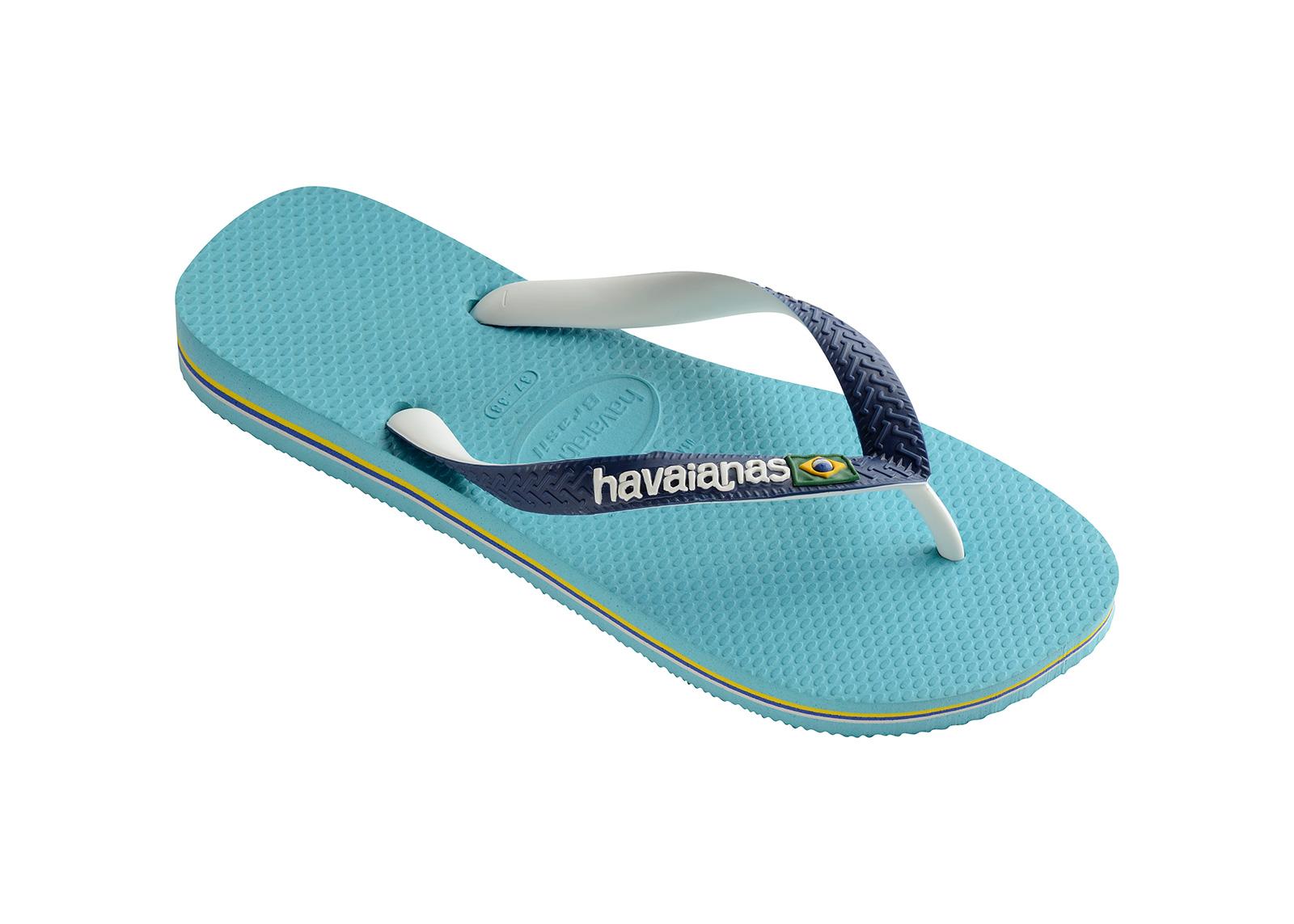 0d6254d7f Flip-Flops Blue Flip Flops - Havaianas Brasil Mix Blue