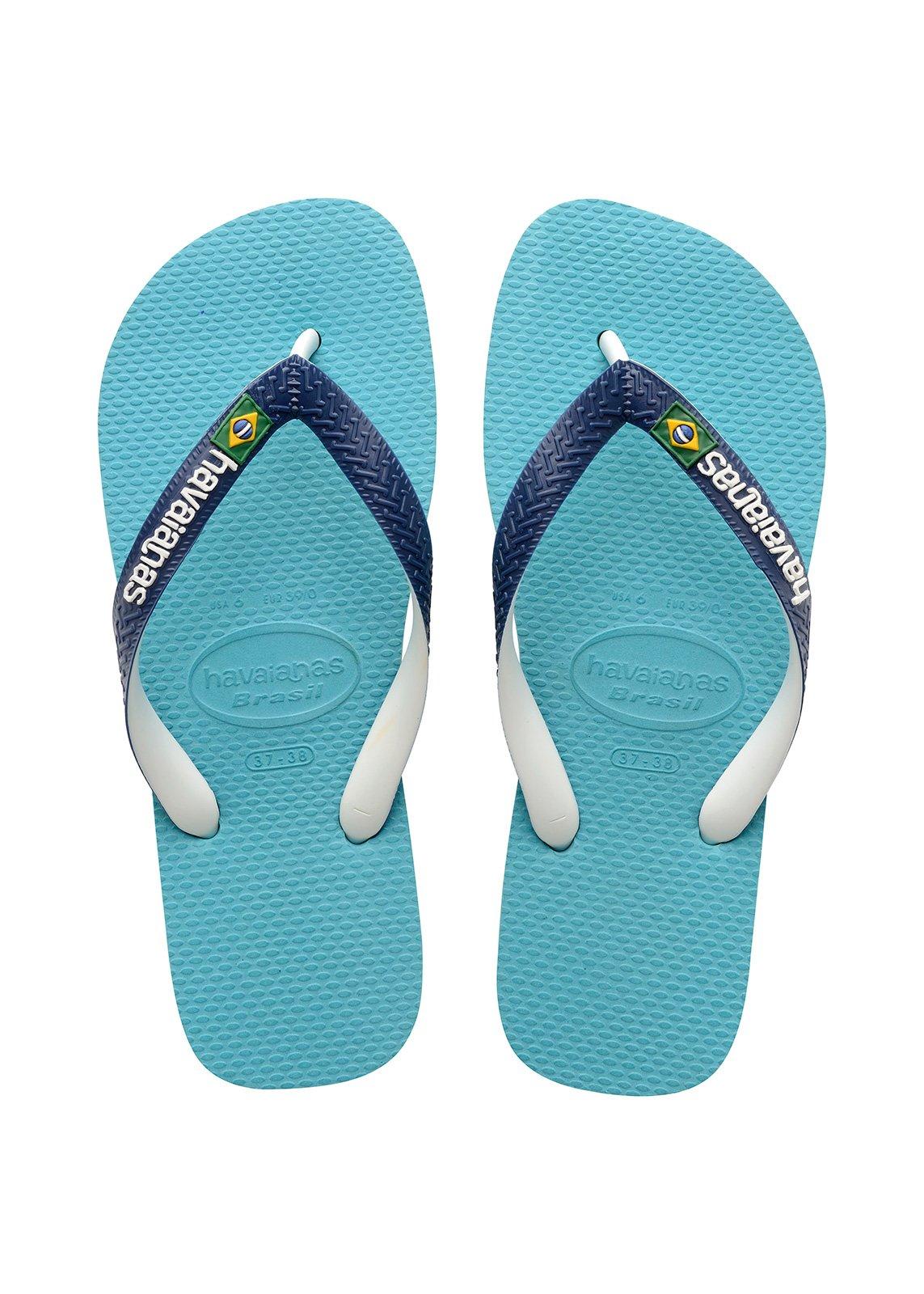 2c94294a7f5c Flip-Flops Blue Flip Flops - Havaianas Brasil Mix Blue