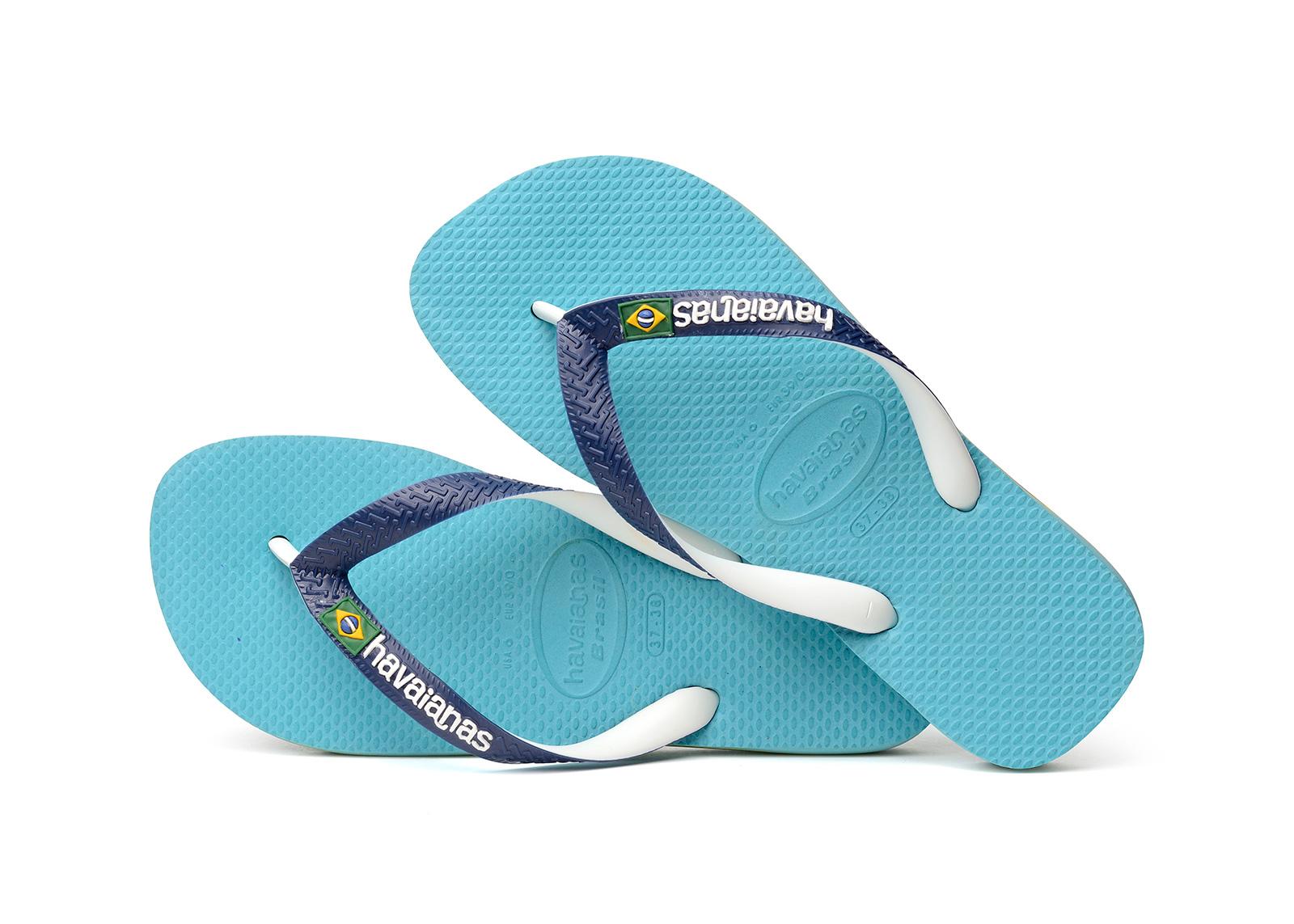 Flip-Flops Blue Flip Flops - Havaianas Brasil Mix Blue 374b23604a