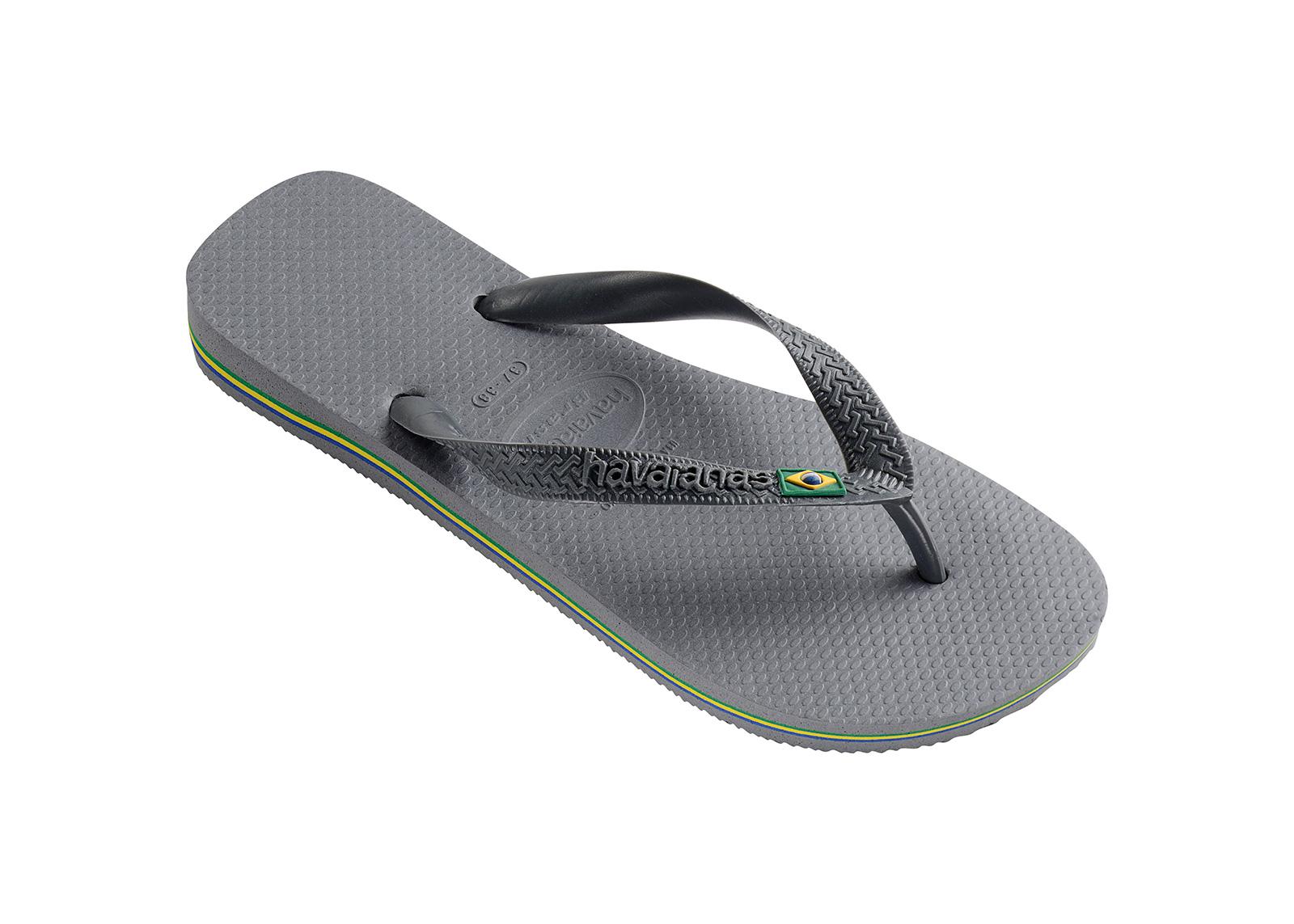 759f9d69f Flip-Flops Flip-flops - Havaianas Brasil Steel Grey - Brand Havaianas