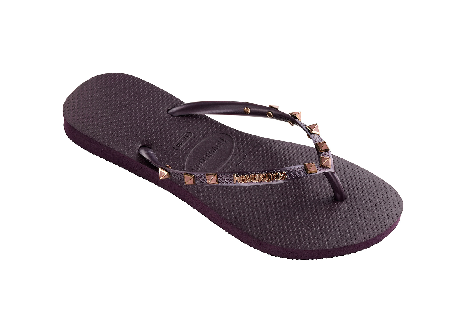 Womens Slim Hardware Flip Flops Havaianas EfuzeBIKAi