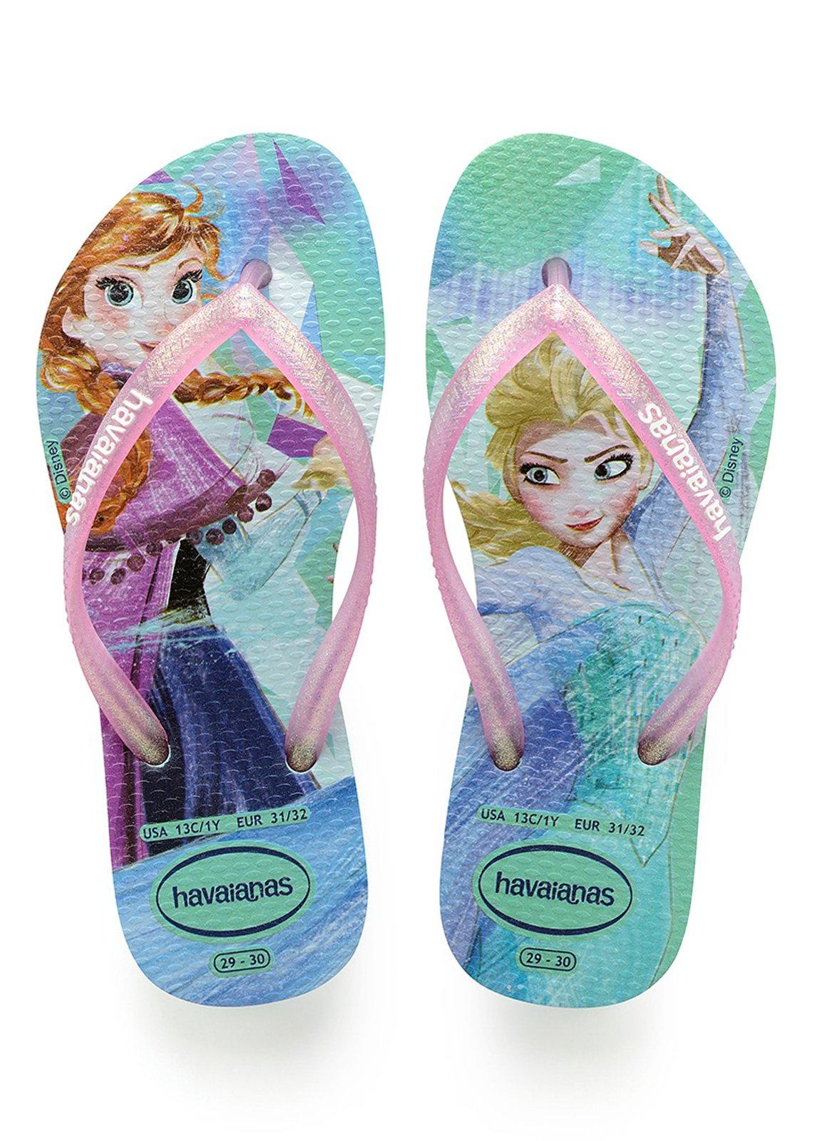 206ce7a0bb Flip-Flops Kids Slim Frozen Ice Blue - Brand Havaianas