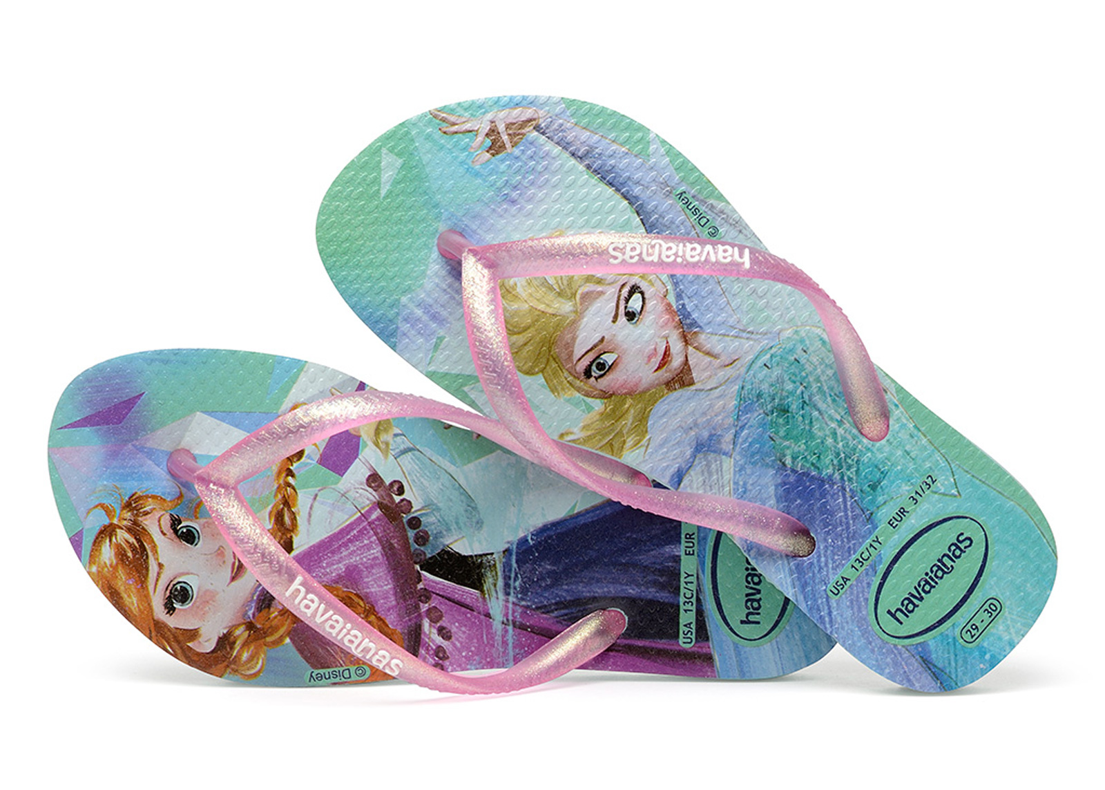 7843de353f57 Flip-Flops Kids Slim Frozen Ice Blue - Brand Havaianas