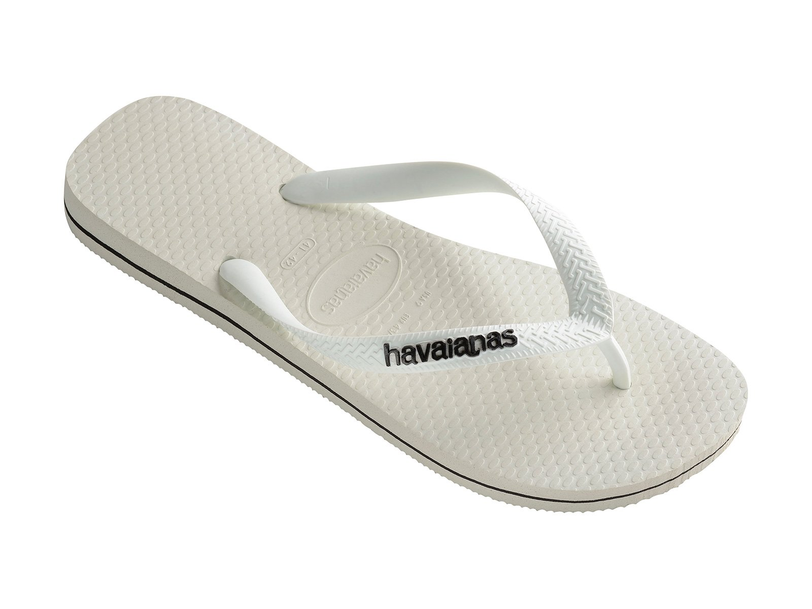 4fd094e1a2eb1a Flip-Flops White Flip Flops - Havaianas Logo Filete White black