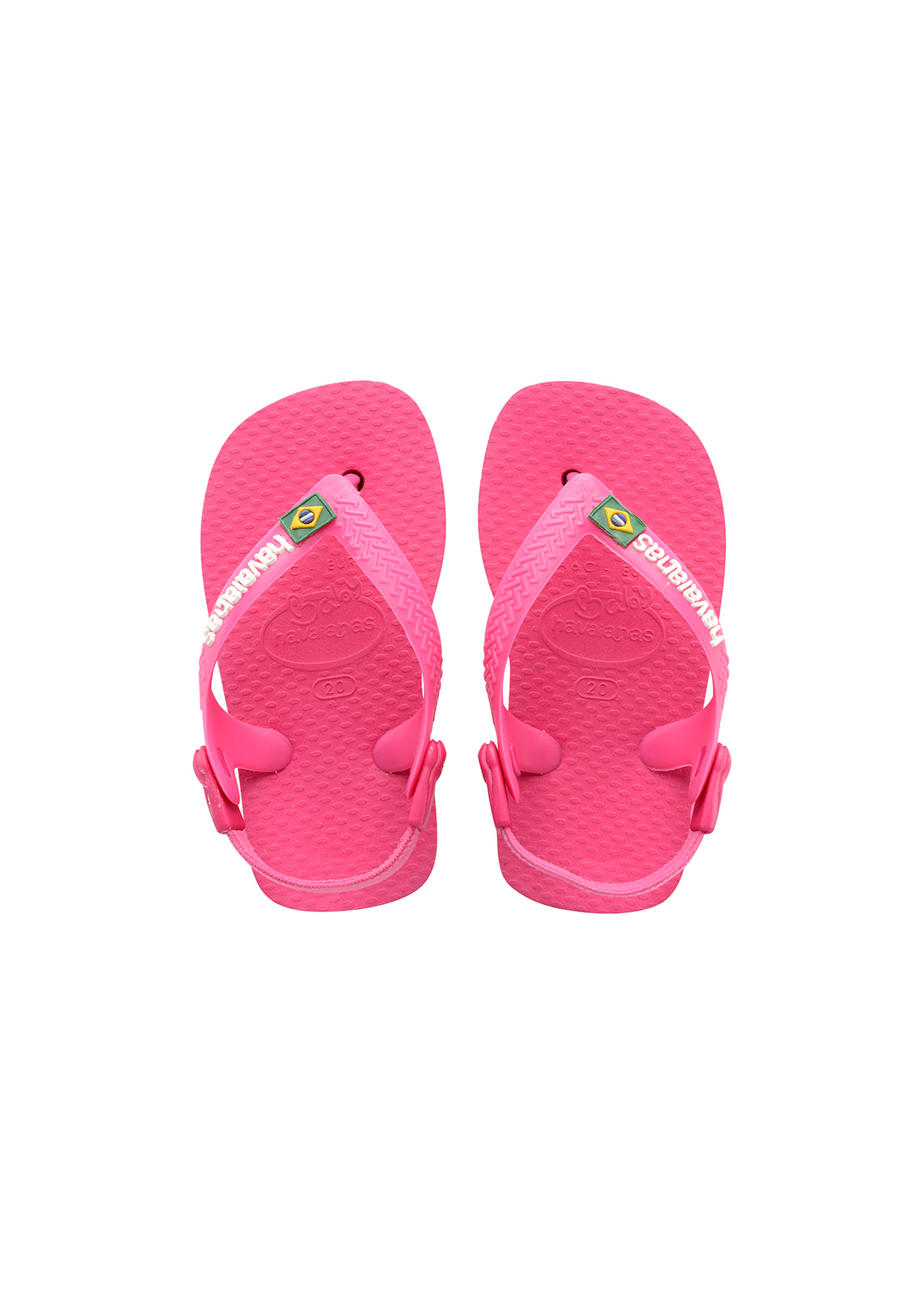 946579e0f6da Sandals Pink Flip Flops - Havaianas Baby Brasil Logo Orchid Rose