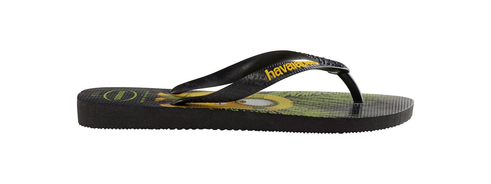 849090ba6 Flip-Flops Black Flip Flops - Havaianas Minions Black