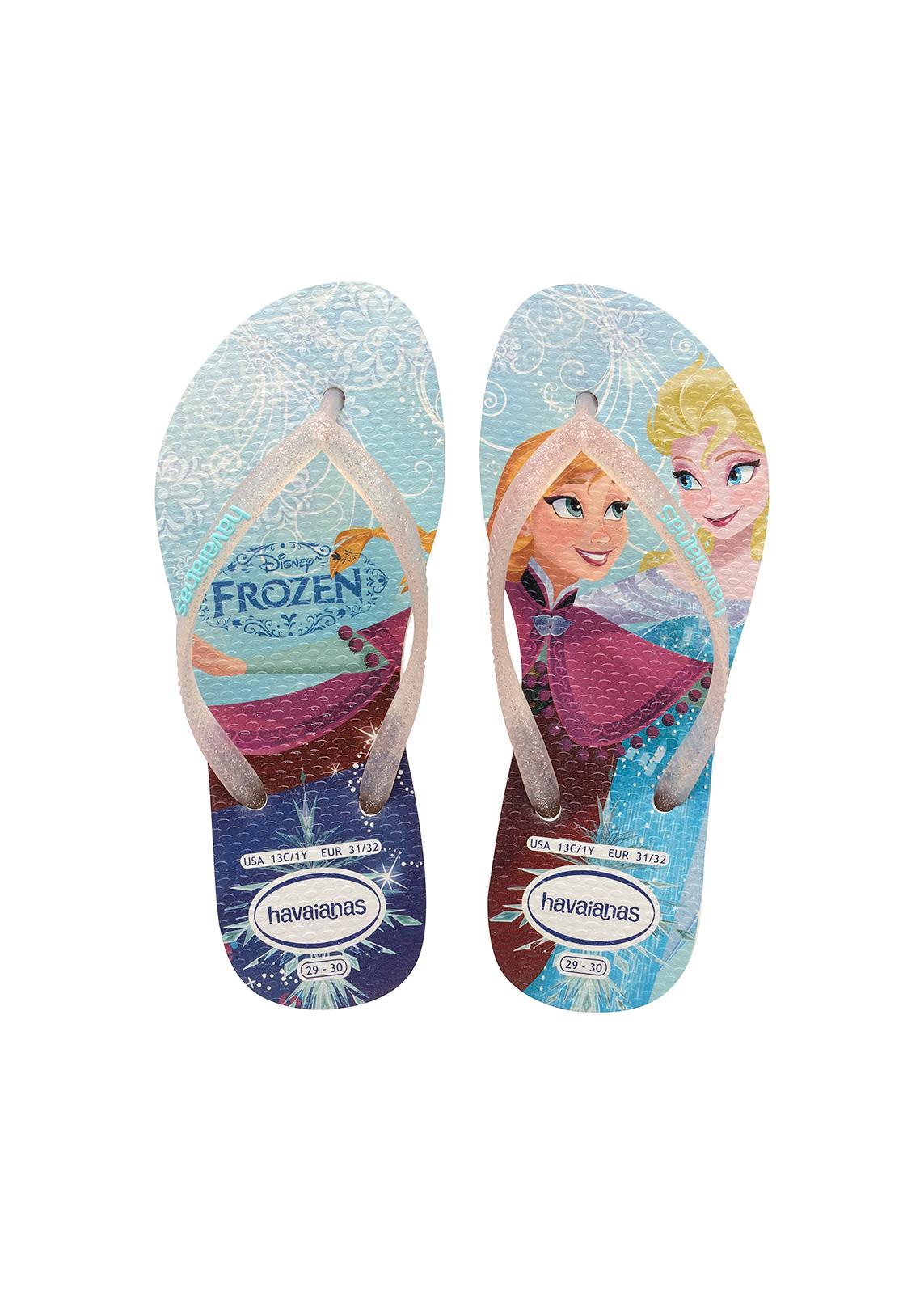 ... Flip-Flops - Havaianas Kids Slim Princess White ...