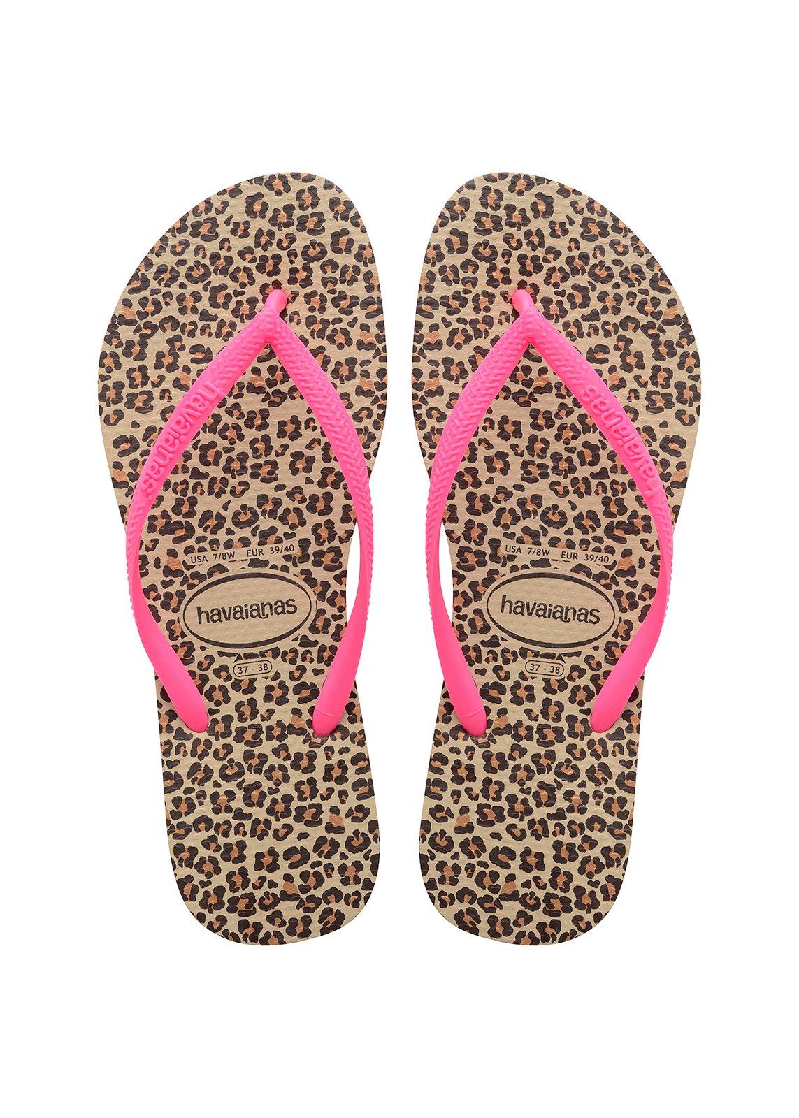 3771d2b5e77fab Flip-Flops Flip-flops - Havaianas Slim Animals Sandgrey pink