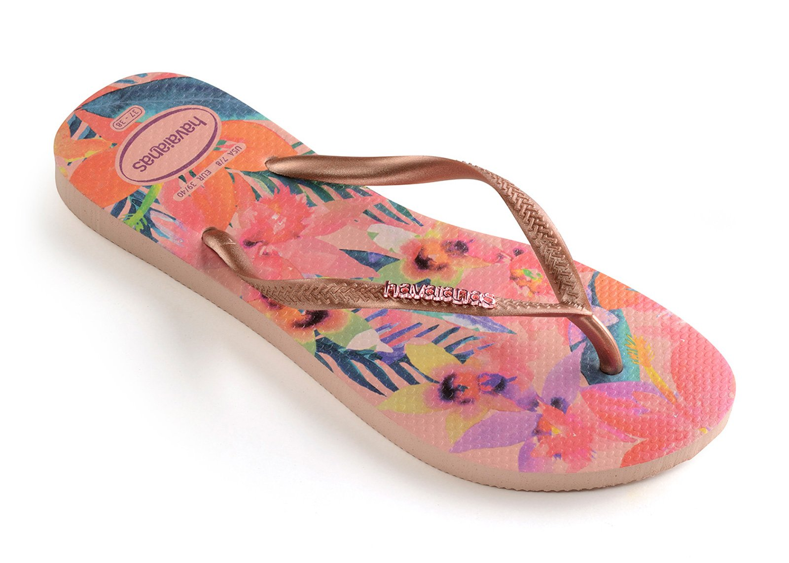 Havaianas Weiss Groesse 0 US/