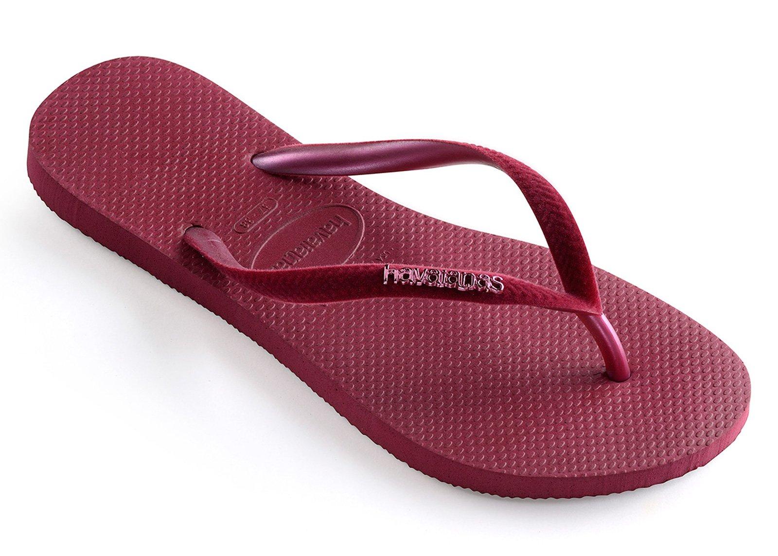 75939cd53 Flip-Flops Slim Velvet Beet - Brand Havaianas
