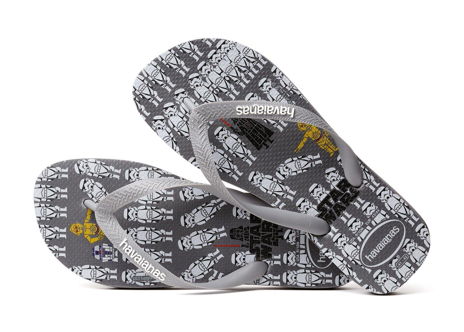 d8f97006029608 Flip-Flops Flip-flops - Havaianas Star Wars Steel Grey