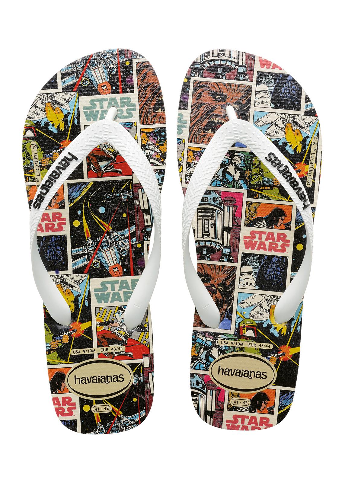 2dd6fd45166d33 Flip-Flops Flip-flops - Havaianas Star Wars White - Brand Havaianas