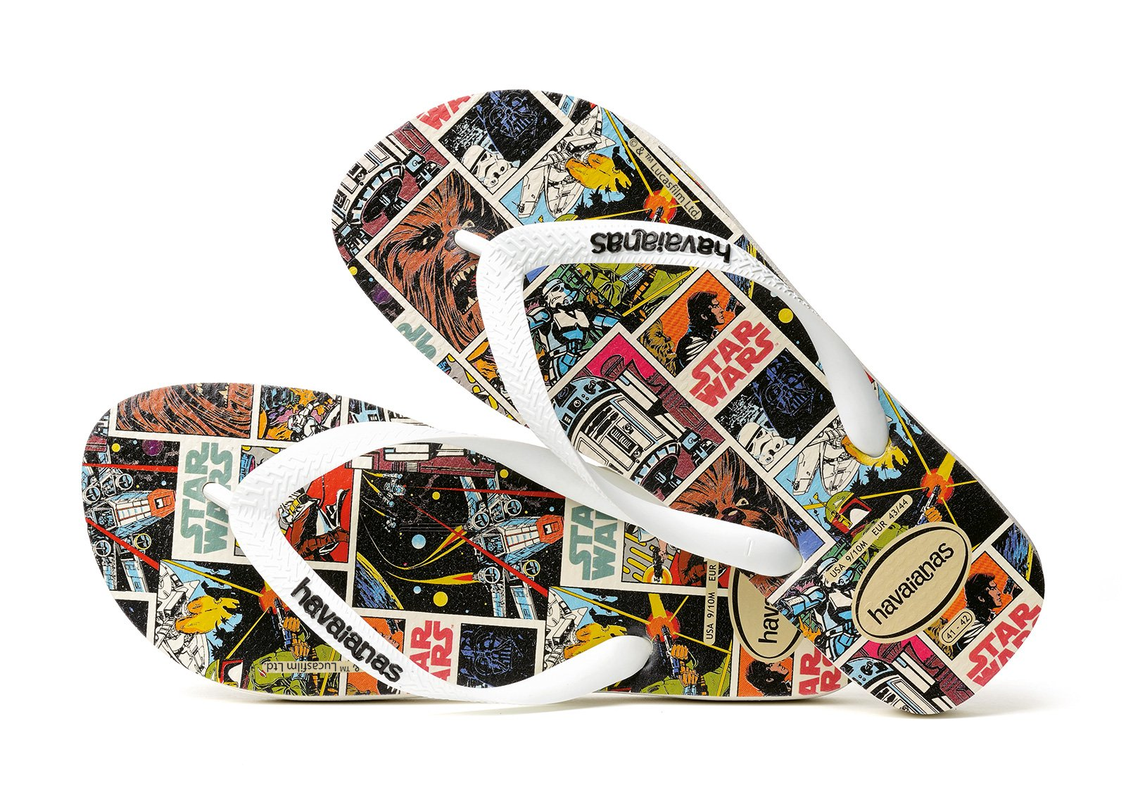 243110fda7f6b0 Flip-Flops Flip-flops - Havaianas Star Wars White - Brand Havaianas