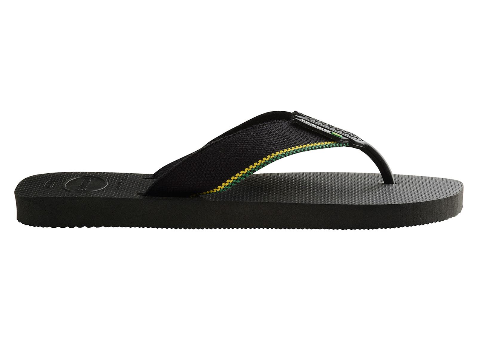 2d6468950 Flip-Flops Urban Brasil Black - Brand Havaianas