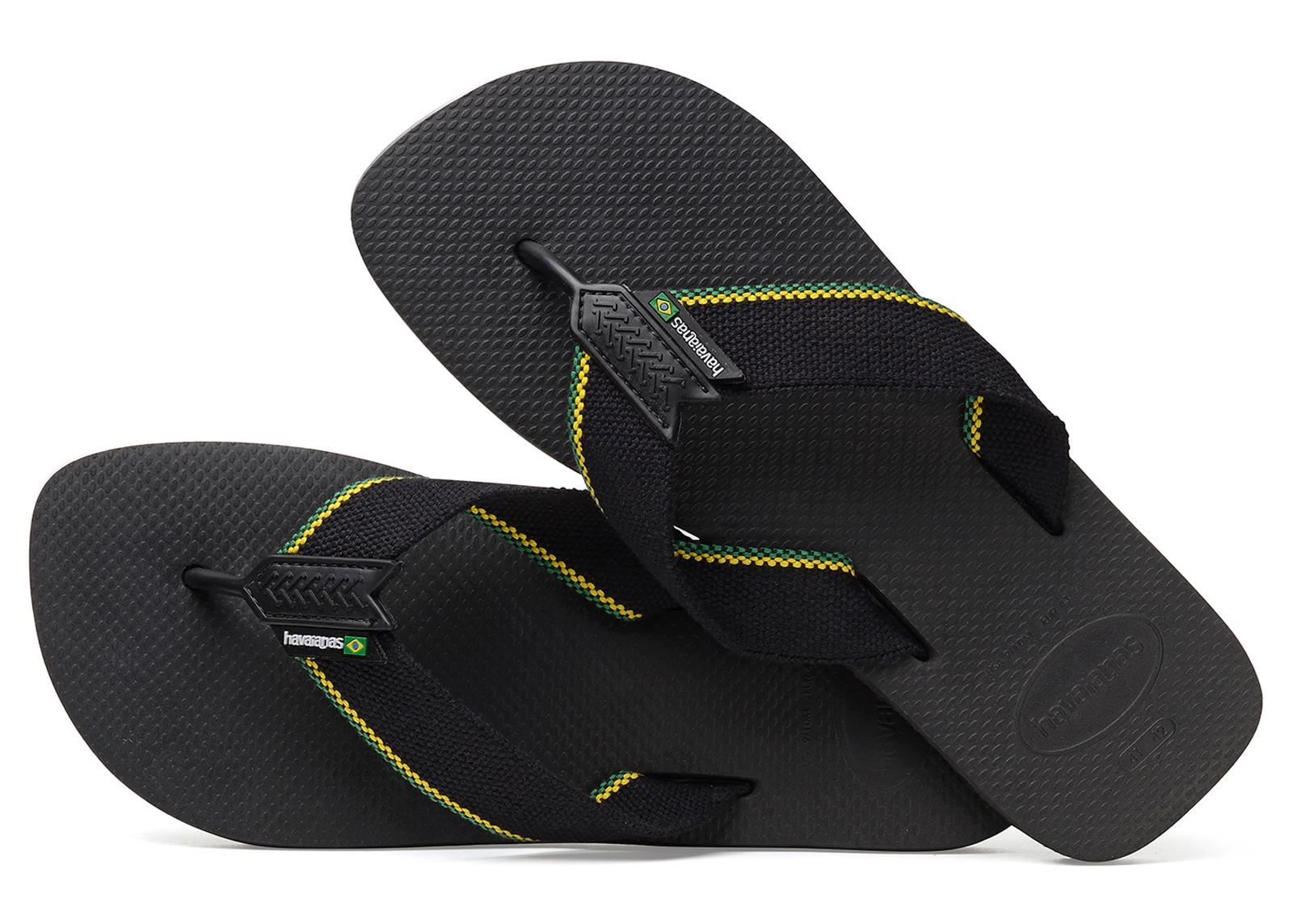 aace0966e212b Flip-Flops Urban Brasil Black - Brand Havaianas