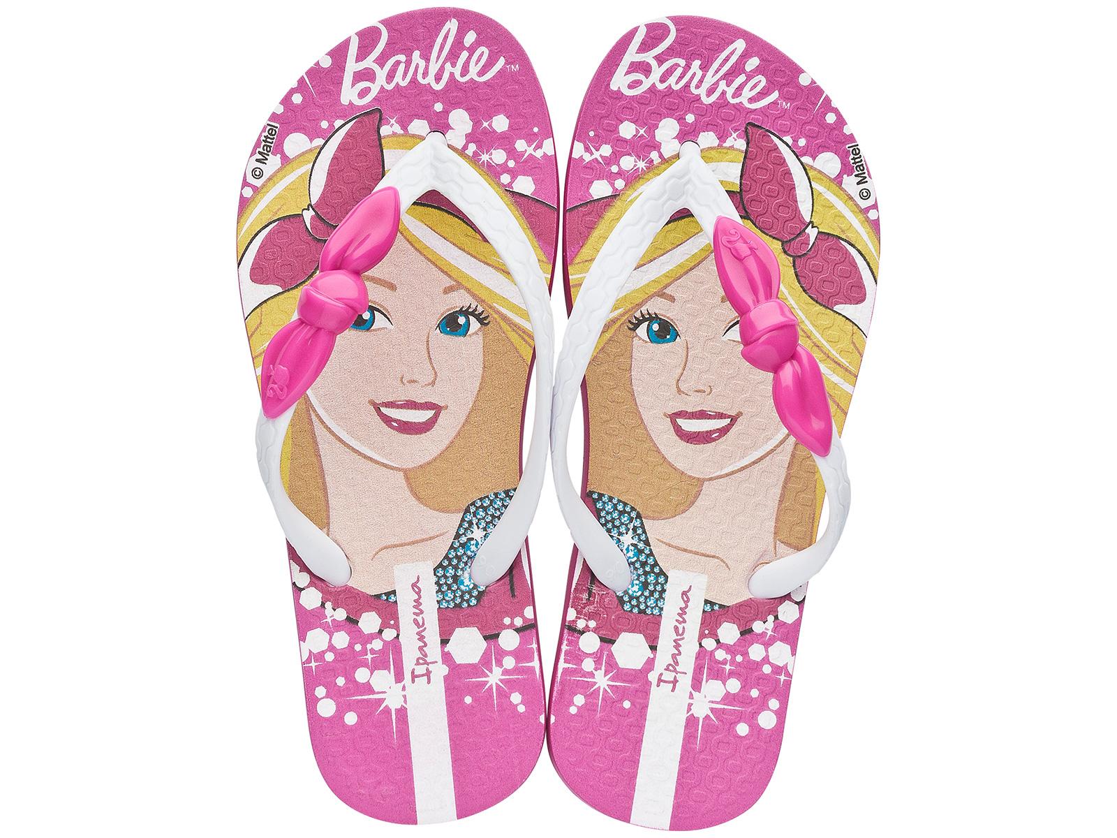 Flip Flops Zehentrenner Ipanema Barbie Style Pink White