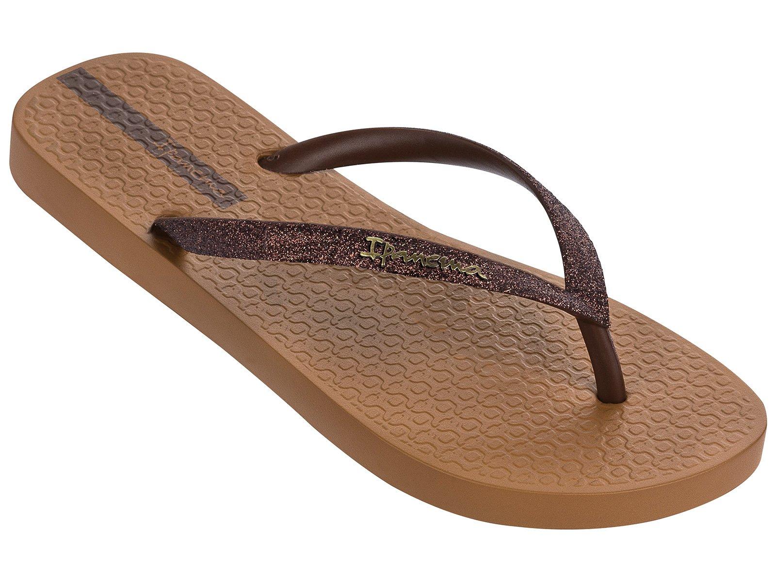 adc0e6e8d Flip-Flops Flip-flops - Ipanema Lolita Iii Fem Brown/bronze