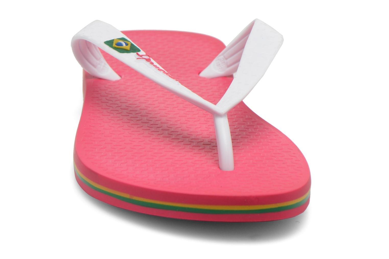 d7590e6f1 Havaianas Kids Flip Flop Sandal Brazil Logo Coral
