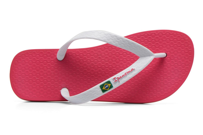 pink white. Infradito - Ipanema Classica Brasil II Kids Pink/White Pink White T
