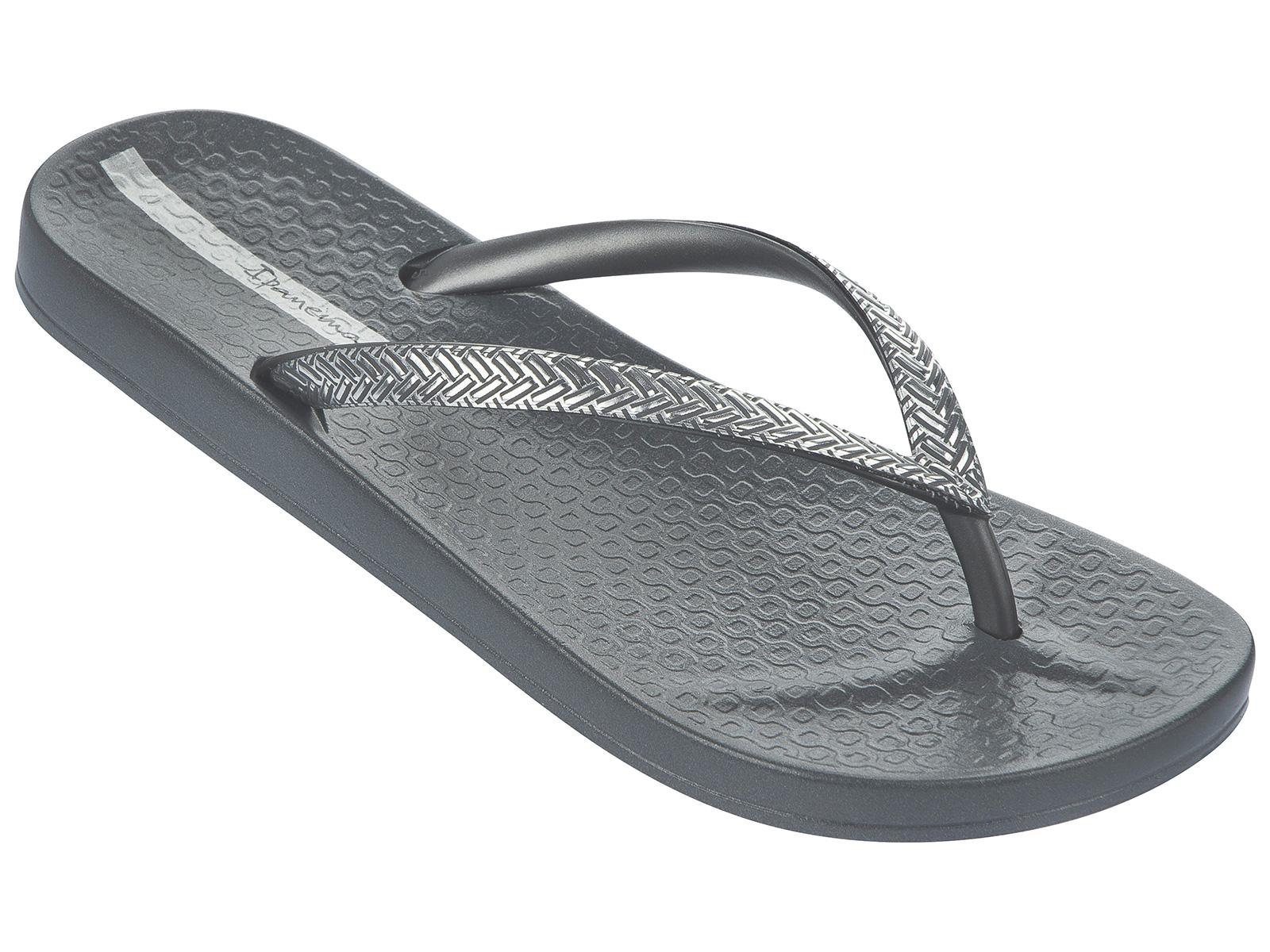 ea48701a787d Flip-Flops Flip-flops - Ipanema Mesh Fem Grey silver - Brand Ipanema