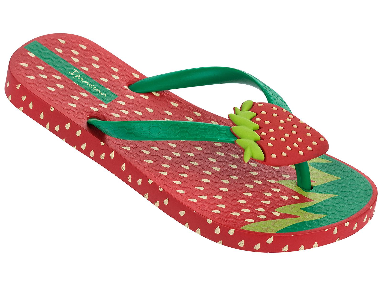 ipanema zehentrenner ipanema tutti frutti kids red green. Black Bedroom Furniture Sets. Home Design Ideas