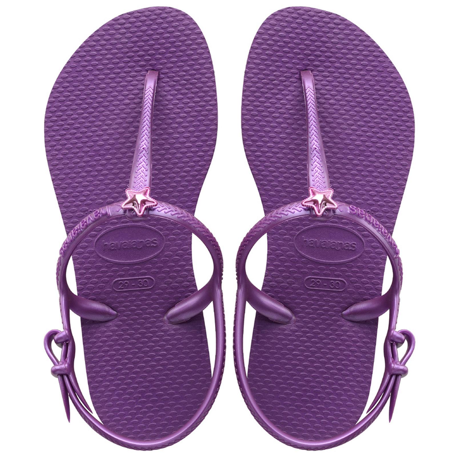 c43c230e0 Sandals Kids Freedom Royal Purple - Brand Havaianas