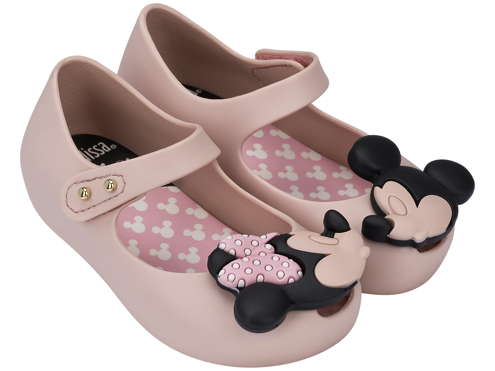 Sandals Flip flops Baby Melissa Ultra Plus Disney Light Pink