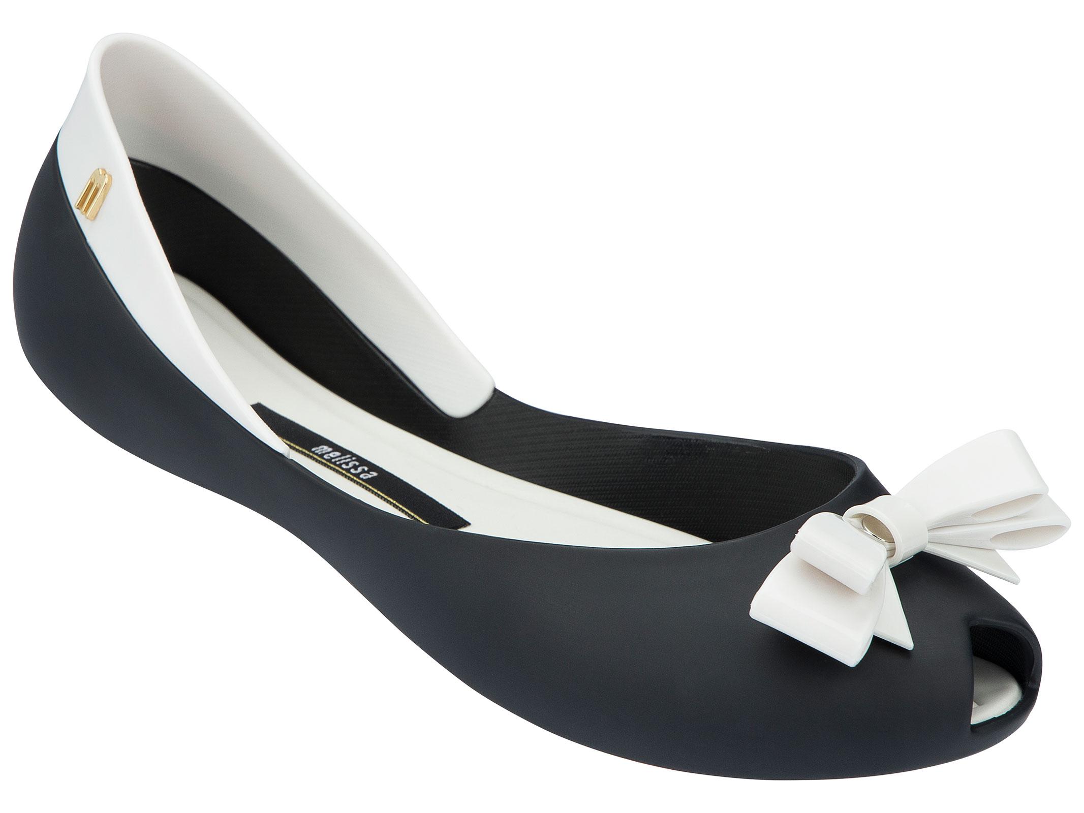Ladies White Flat Shoes