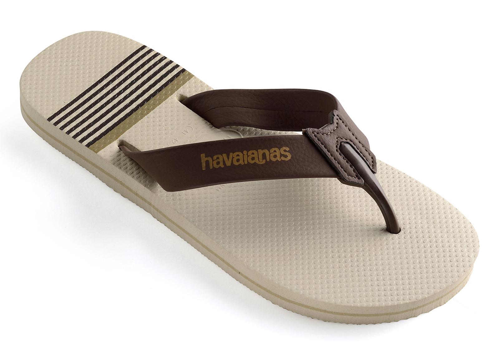 c0aa766564776 Flip-Flops Urban Craft Beige-brown - Brand Havaianas
