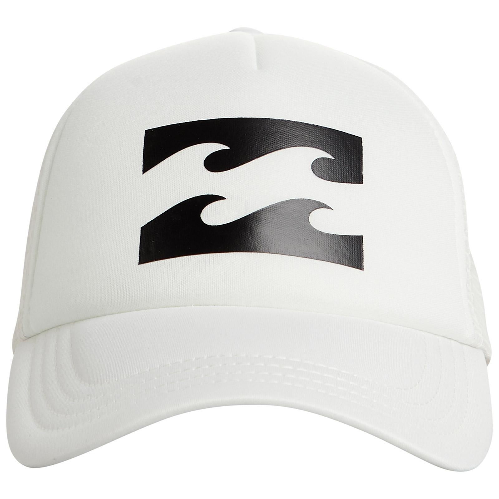 a3b0a3a46852d Hat White Trucker Cap With Back Mesh - Billabong Trucker Cool Wip