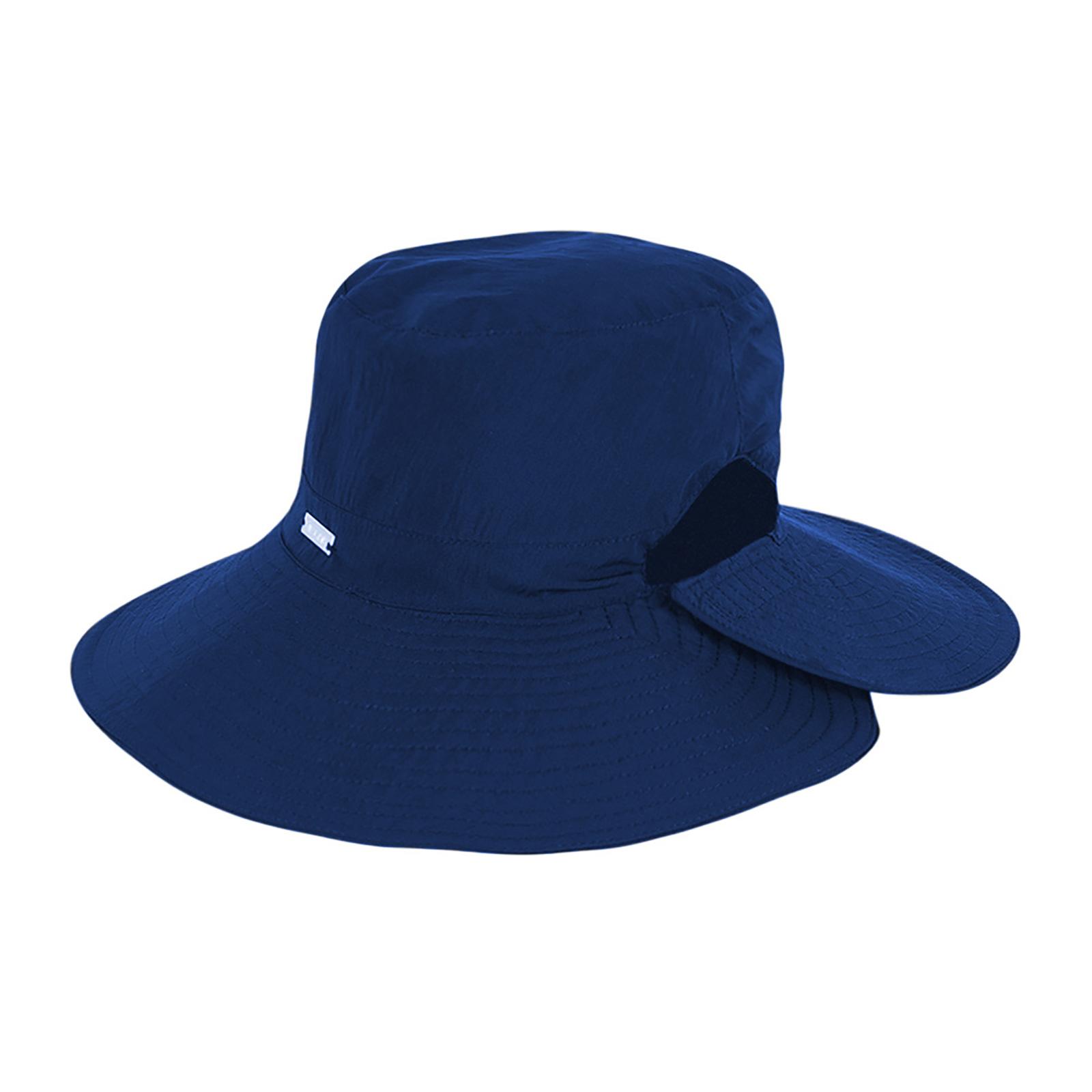 Hat Dark Blue Hat Velcro Fastening - San Diego Indigo - Brand UV Line 064c41bc1d0