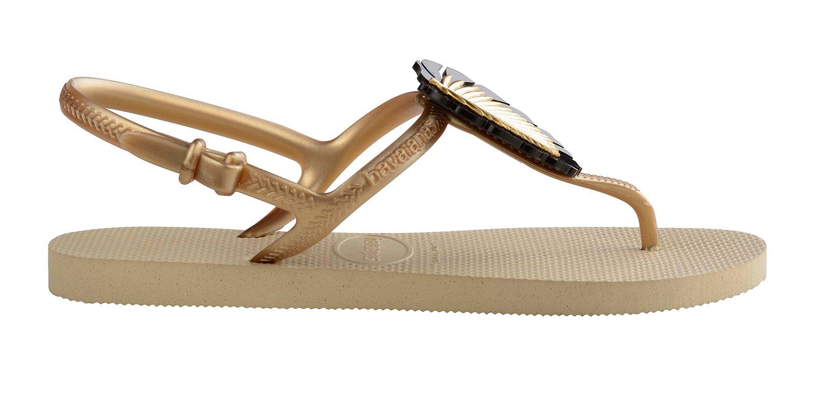 a85fb40734ae Flip-Flops Havaianas Freedom Metal Pin Sand Grey - Brand Havaianas