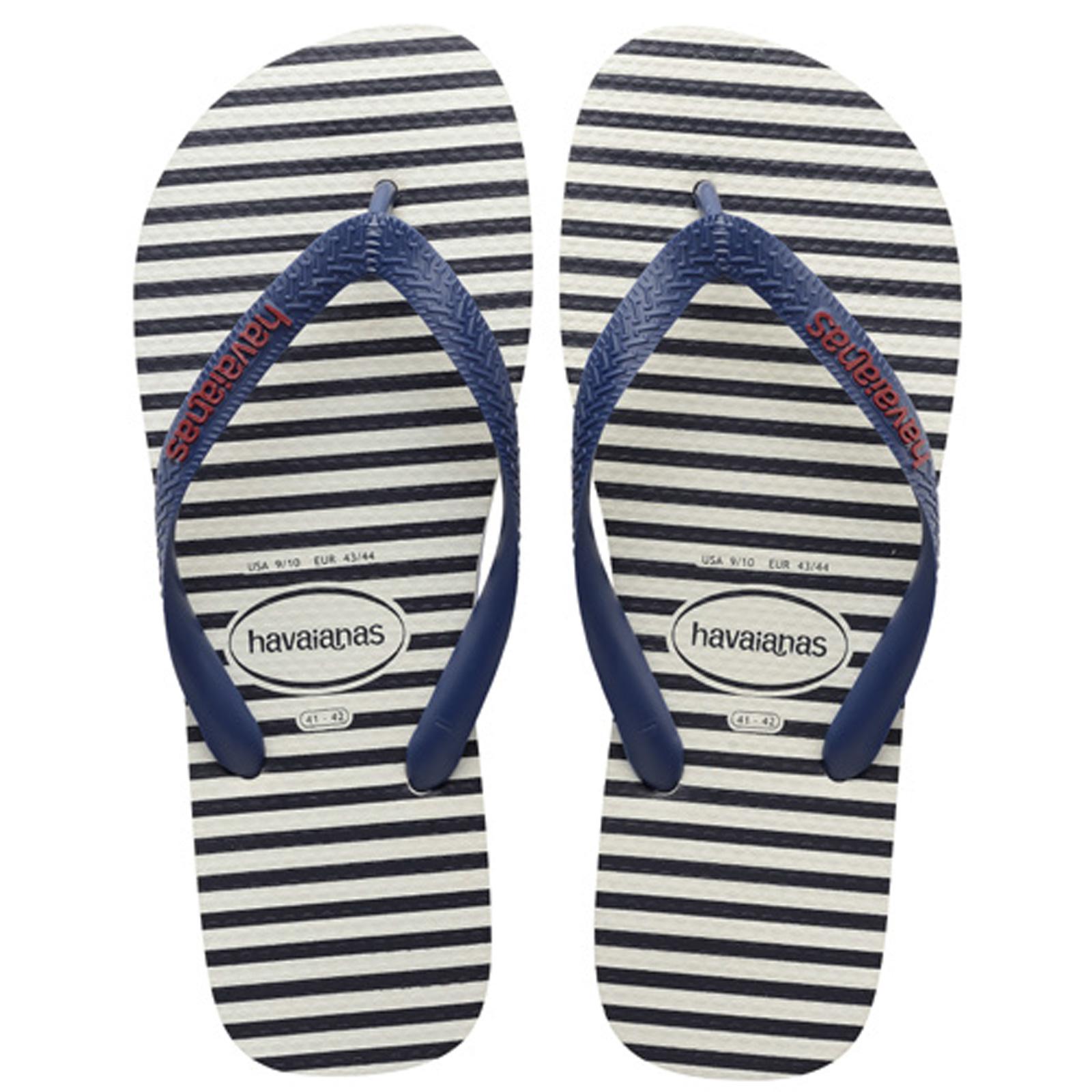 dee2c881fe4d Flip-Flops Top Nautical White-navy Blue - Brand Havaianas