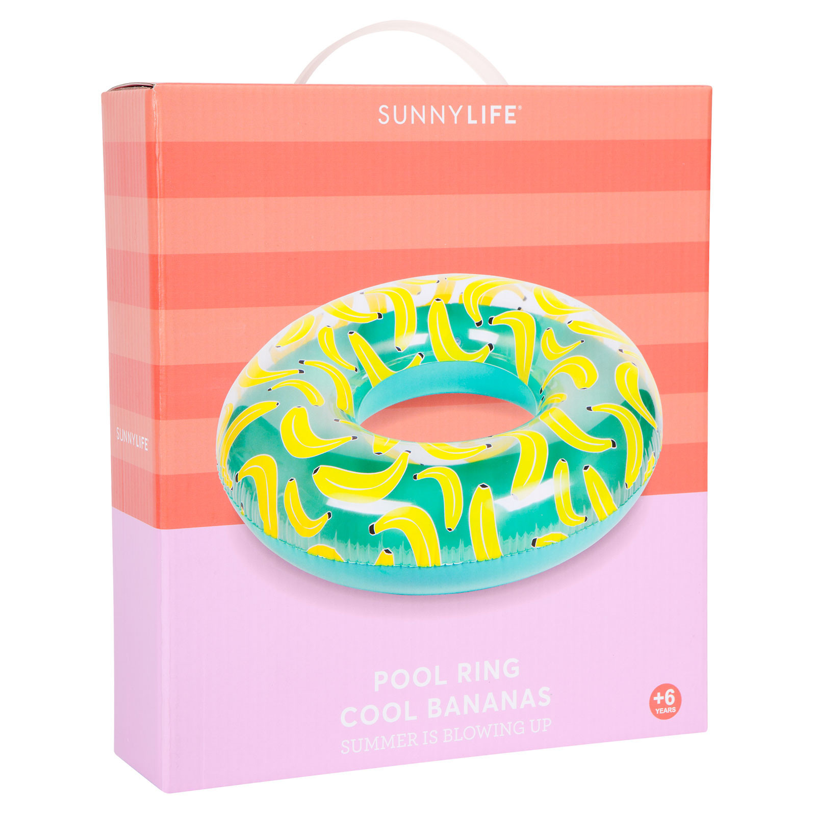 112Cm Round Adult Rubber Ring With Banana Pattern - Ring -3509