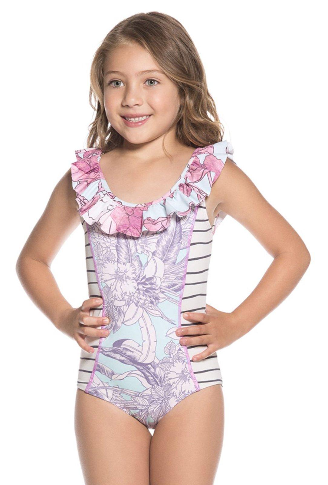 Young bikini model